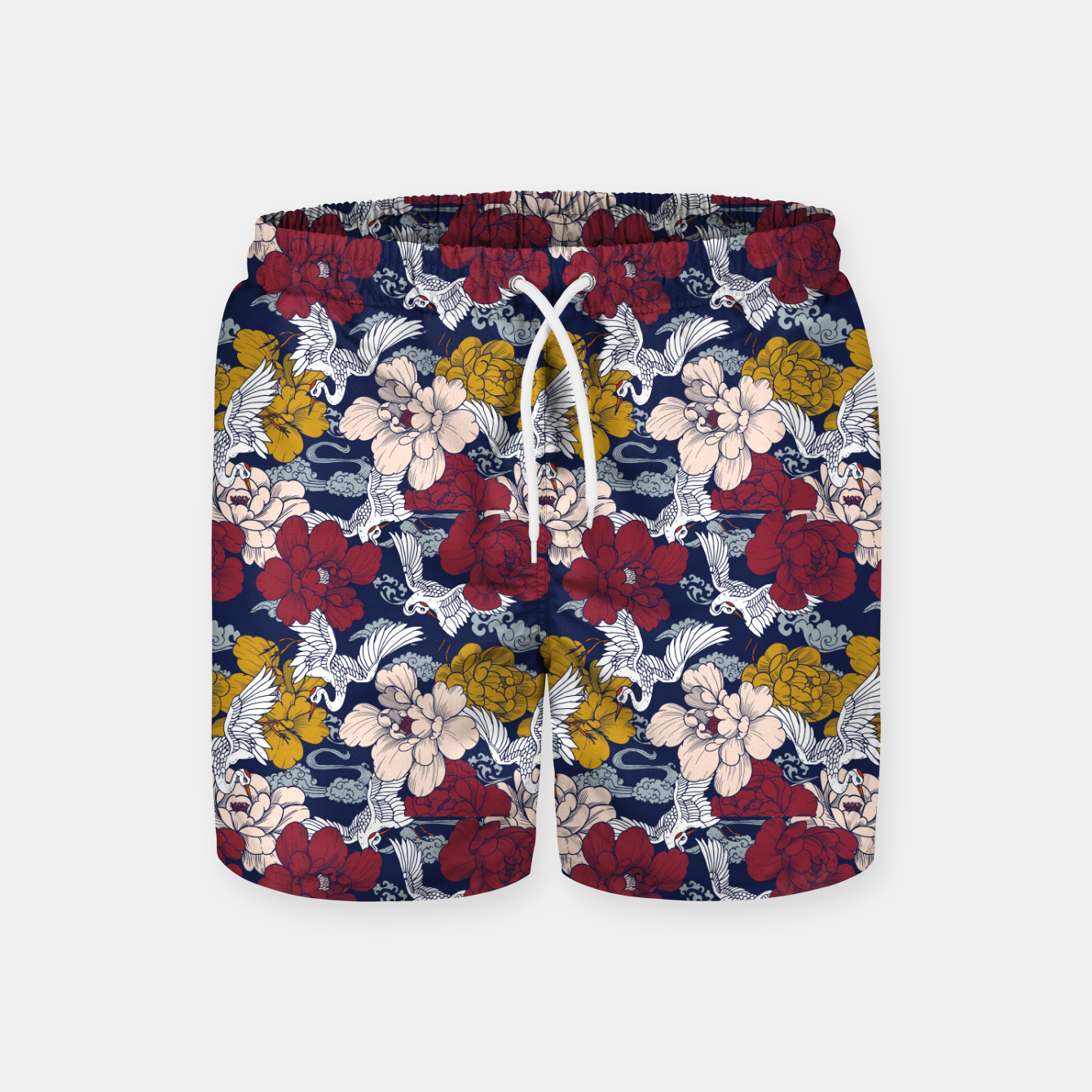 Image of Pattern Asian 77 Pantalones de baño - Live Heroes