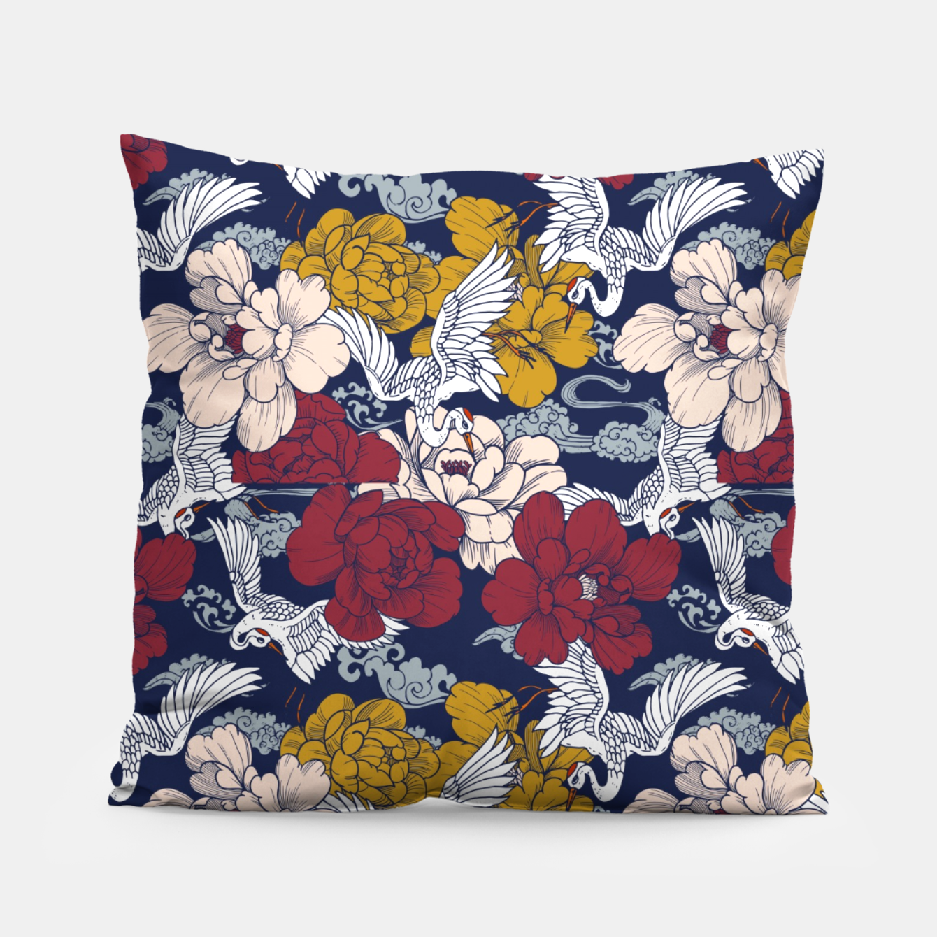 Image of Pattern Asian 77 Almohada - Live Heroes
