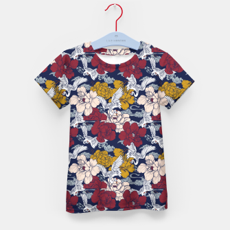 Thumbnail image of Pattern Asian 77 Camiseta para niños, Live Heroes