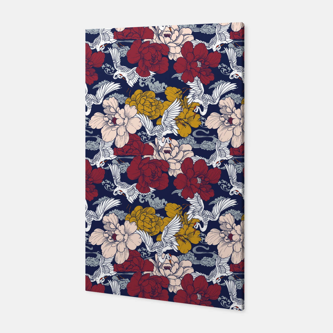 Image of Pattern Asian 77 Canvas - Live Heroes