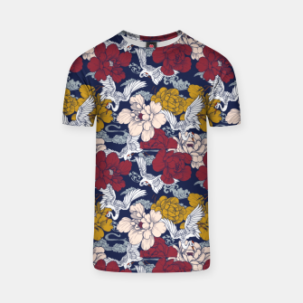 Thumbnail image of Pattern Asian 77 Camiseta, Live Heroes
