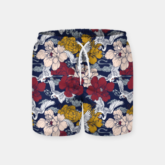 Thumbnail image of Pattern Asian 77 Pantalones de baño, Live Heroes