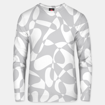 Thumbnail image of Abstract pattern - gray and white. Unisex sweater, Live Heroes