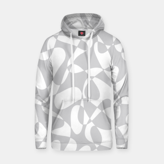 Thumbnail image of Abstract pattern - gray and white. Hoodie, Live Heroes
