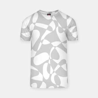 Thumbnail image of Abstract pattern - gray and white. T-shirt, Live Heroes