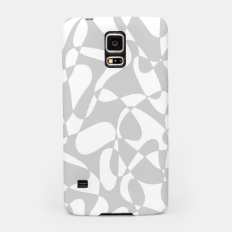 Thumbnail image of Abstract pattern - gray and white. Samsung Case, Live Heroes