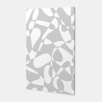Thumbnail image of Abstract pattern - gray and white. Canvas, Live Heroes