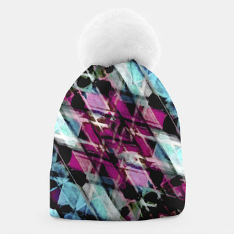 Thumbnail image of Matrix Grunge Print Beanie, Live Heroes