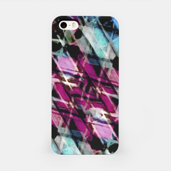 Matrix Grunge Print iPhone Case obraz miniatury
