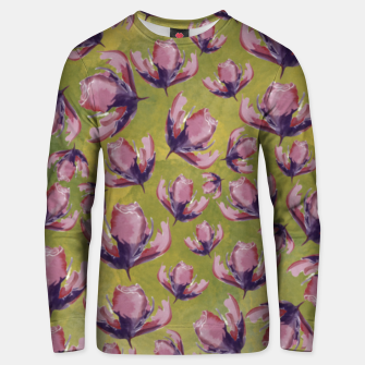 Watercolour flowers Sudadera unisex miniature
