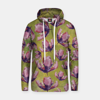 Watercolour flowers Sudadera con capucha miniature