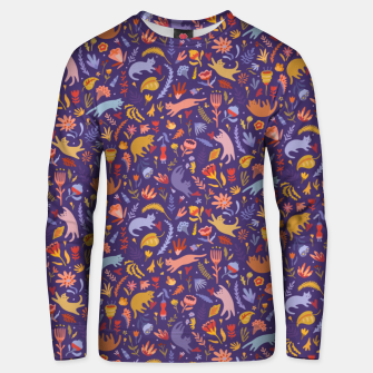 Miniatur Candy Cats in the Magic Garden Unisex sweater, Live Heroes
