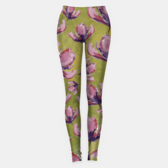 Watercolour flowers Leggings miniature