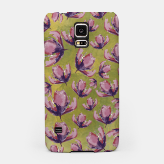 Watercolour flowers Carcasa por Samsung miniature