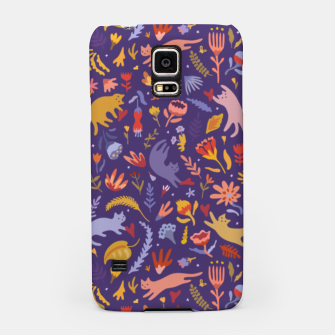 Miniatur Candy Cats in the Magic Garden Samsung Case, Live Heroes
