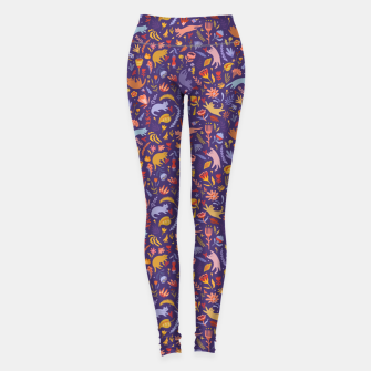 Miniatur Candy Cats in the Magic Garden Leggings, Live Heroes