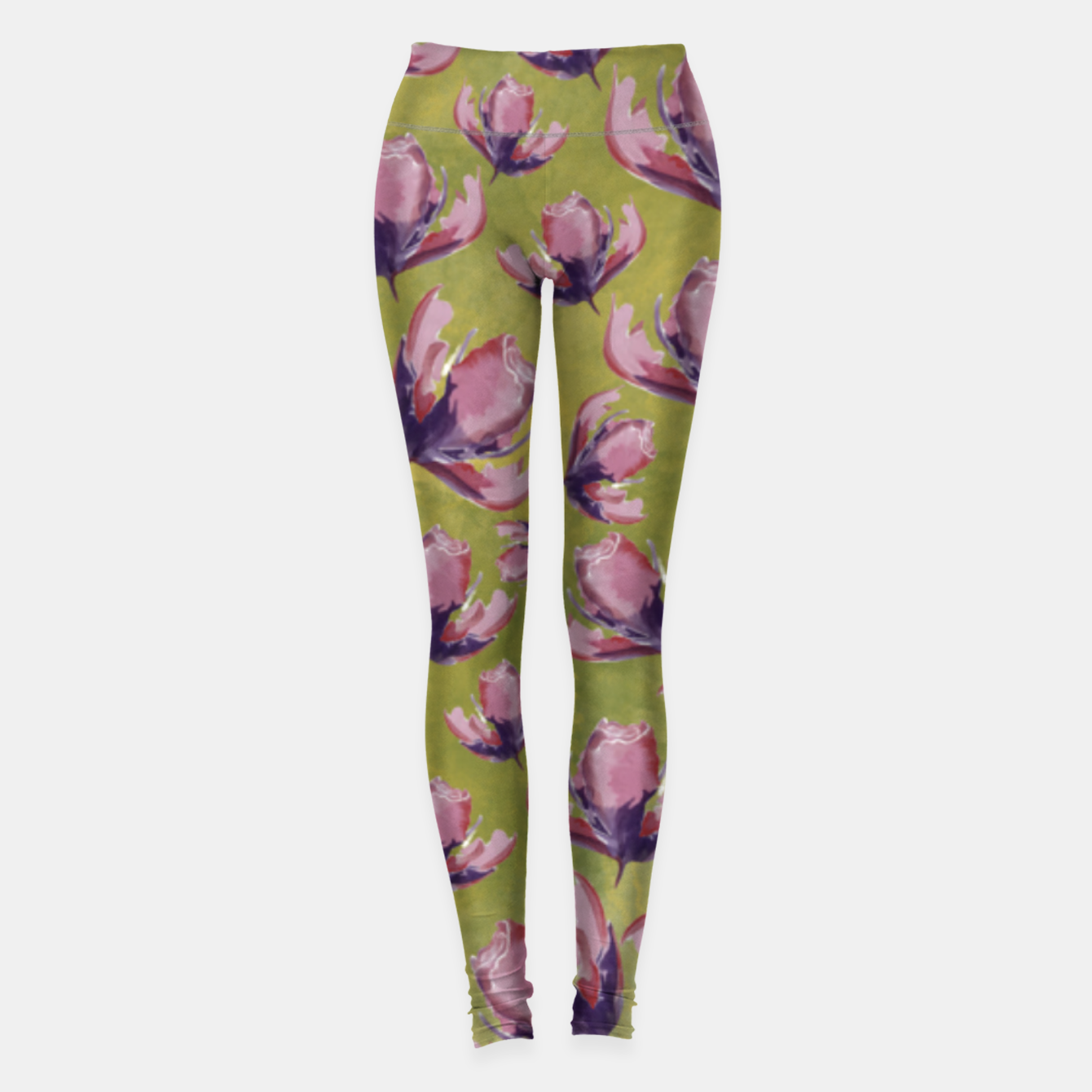 Image de Watercolour flowers Leggings - Live Heroes
