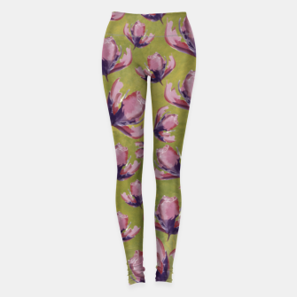 Miniatur Watercolour flowers Leggings, Live Heroes