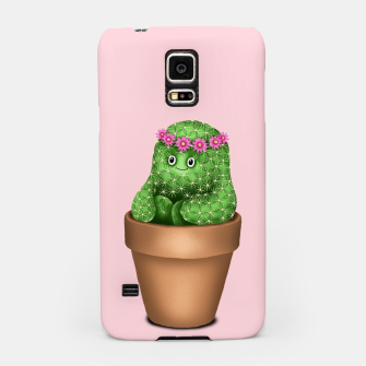 Thumbnail image of Cute Cactus (Pink Background) Samsung Case, Live Heroes
