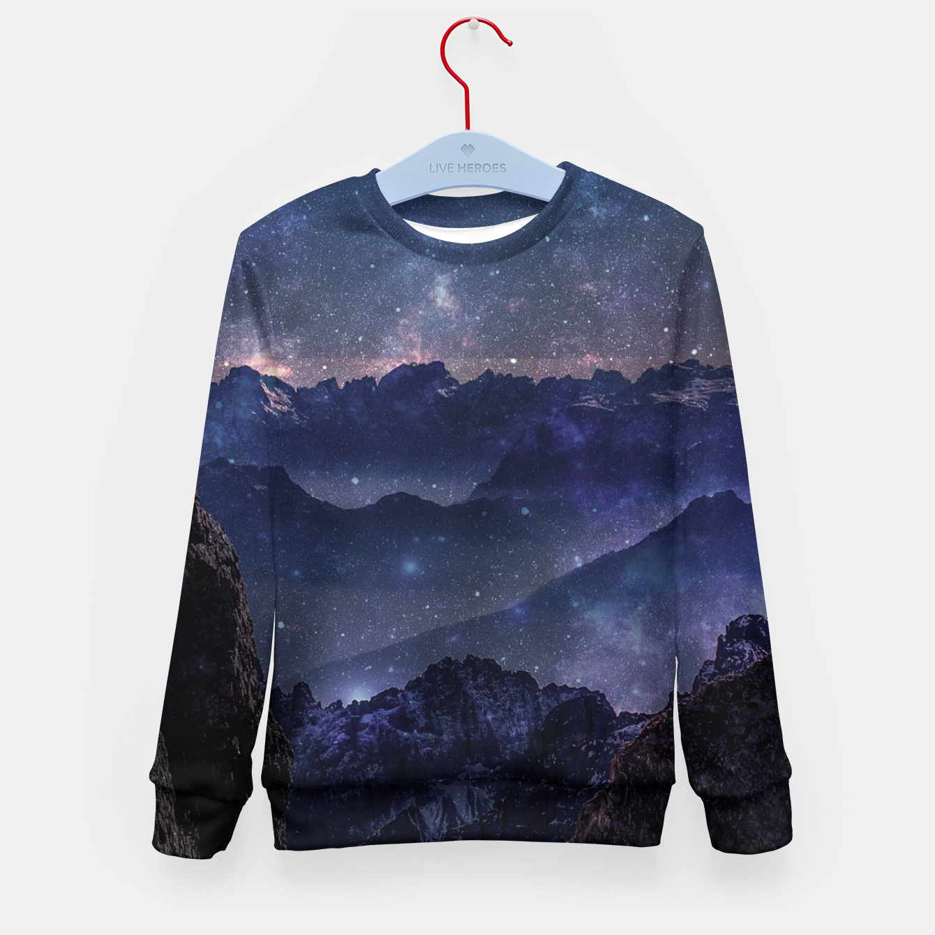 Image of Far Star Kid's sweater - Live Heroes