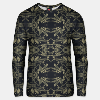 Miniatur Stylized Golden Ornate Nature Motif Print Unisex sweater, Live Heroes