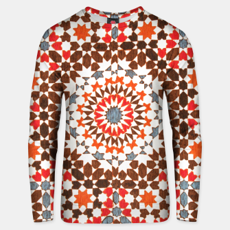 Thumbnail image of Geometric Traditional Moroccan Islamic Artwork Unisex sweater, Live Heroes