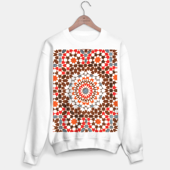 Thumbnail image of Geometric Traditional Moroccan Islamic Artwork Sweater regular, Live Heroes