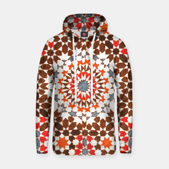 Thumbnail image of Geometric Traditional Moroccan Islamic Artwork Hoodie, Live Heroes