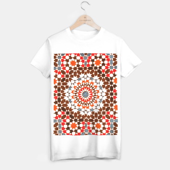 Thumbnail image of Geometric Traditional Moroccan Islamic Artwork T-shirt regular, Live Heroes