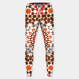 Thumbnail image of Geometric Traditional Moroccan Islamic Artwork Sweatpants, Live Heroes