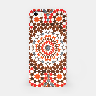 Thumbnail image of Geometric Traditional Moroccan Islamic Artwork iPhone Case, Live Heroes