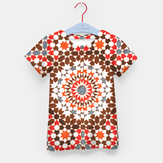 Thumbnail image of Geometric Traditional Moroccan Islamic Artwork Kid's t-shirt, Live Heroes