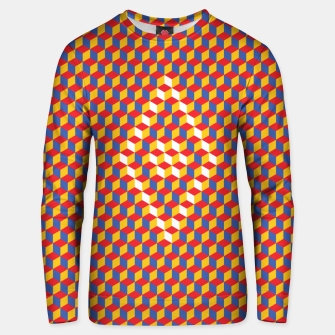 Thumbnail image of Abstract Blocks Unisex sweater, Live Heroes