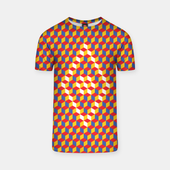 Thumbnail image of Abstract Blocks T-shirt, Live Heroes