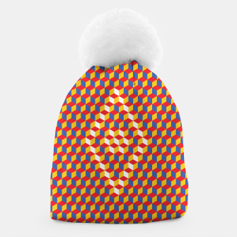 Thumbnail image of Abstract Blocks Beanie, Live Heroes