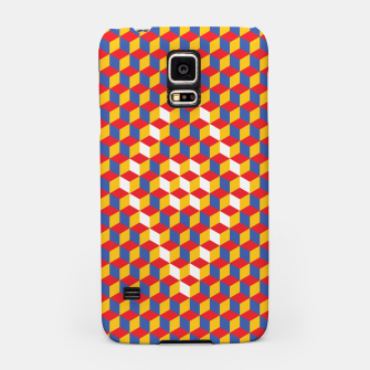Thumbnail image of Abstract Blocks Samsung Case, Live Heroes