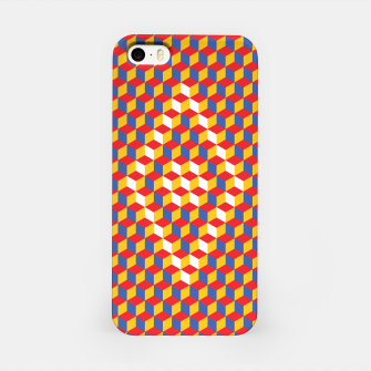 Thumbnail image of Abstract Blocks iPhone Case, Live Heroes