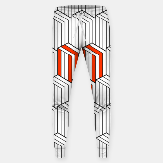 Thumbnail image of Abstract Lines Sweatpants, Live Heroes