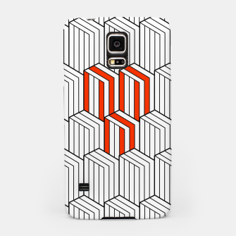 Thumbnail image of Abstract Lines Samsung Case, Live Heroes