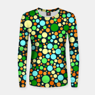 Thumbnail image of Abstract Nature Circles Women sweater, Live Heroes