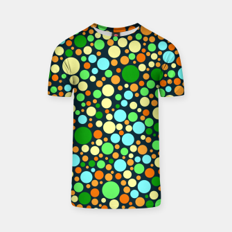 Thumbnail image of Abstract Nature Circles T-shirt, Live Heroes