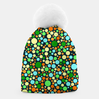 Thumbnail image of Abstract Nature Circles Beanie, Live Heroes