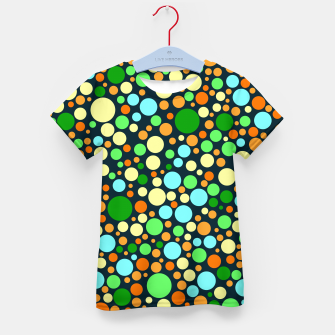 Thumbnail image of Abstract Nature Circles Kid's t-shirt, Live Heroes