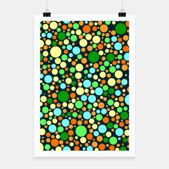 Miniatur Abstract Nature Circles Poster, Live Heroes