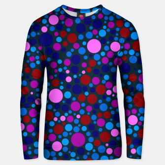 Miniatur Abstract Circles Unisex sweater, Live Heroes