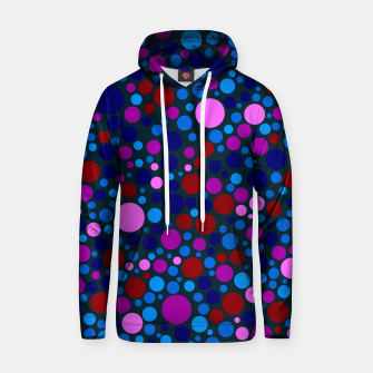 Miniatur Abstract Circles Hoodie, Live Heroes
