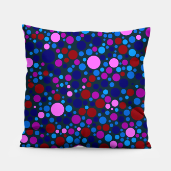 Miniatur Abstract Circles Pillow, Live Heroes