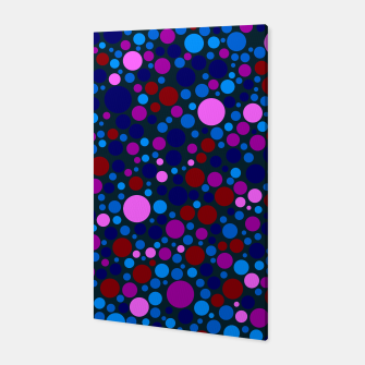 Miniatur Abstract Circles Canvas, Live Heroes