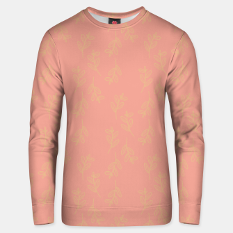 Thumbnail image of Feeling of lightness Pattern II - Melon color Unisex sweater, Live Heroes