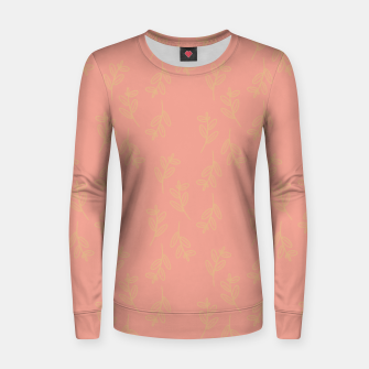 Thumbnail image of Feeling of lightness Pattern II - Melon color Women sweater, Live Heroes
